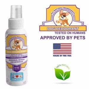 Natural dog deodorant (lavander)