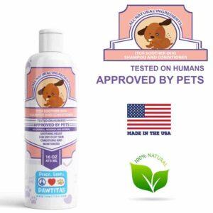 Natural itch shooter Shampoo