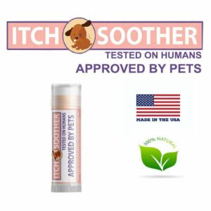 Natural itch soother balm for dogs