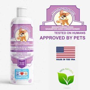 natural brightening dog shampoo