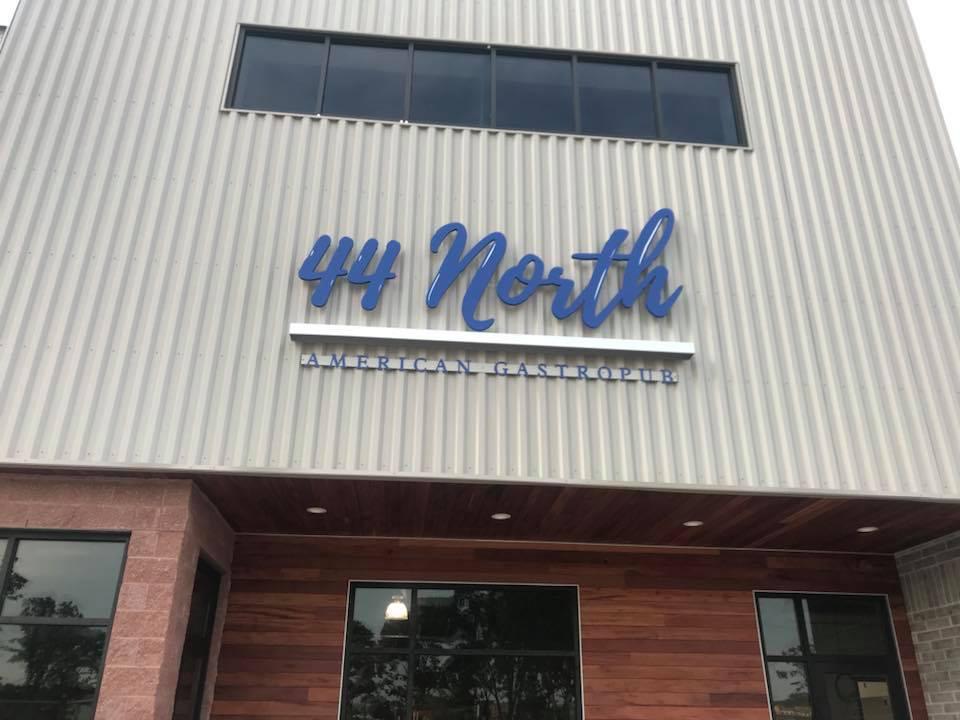 44 North Sign