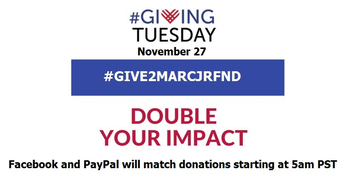 Marc Jr Facebook GivingTuesday