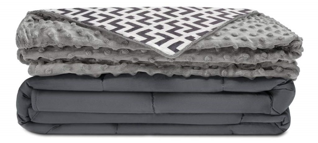 Quility Premium Kids Weighted Blanket & Removable Cover