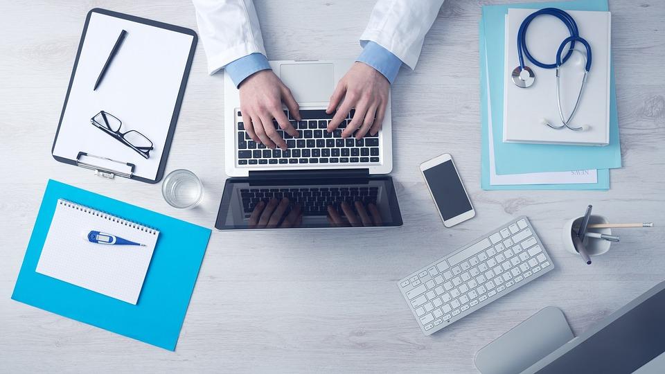 Doctors, report, typing, medicine, health