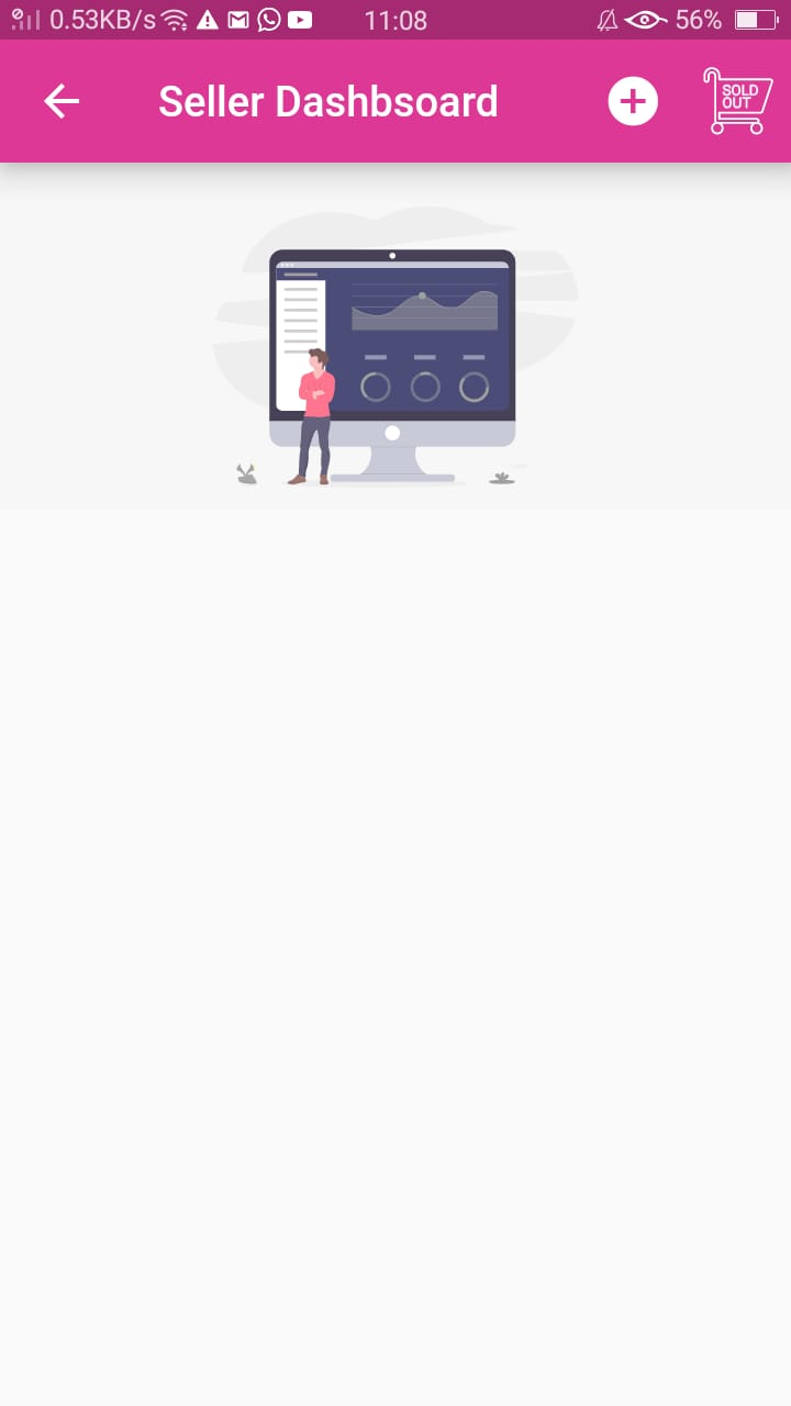 Marc Jr Foundation App Seller Dashboard