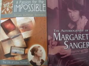 Lilias Trotter & Margaret Sanger