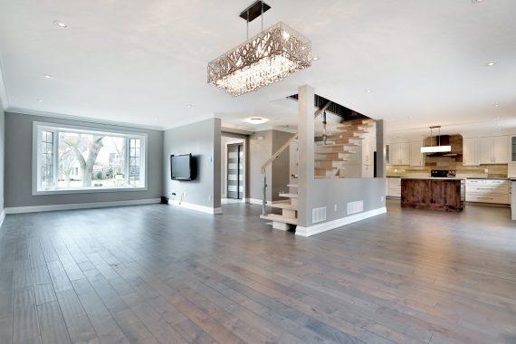 Main Floor Home Renovation - Open Concept