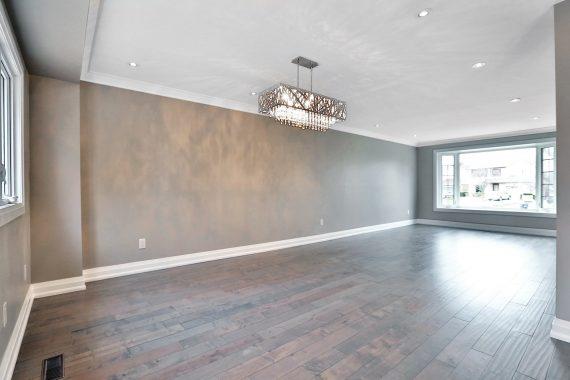 Main Floor Home Renovation - Living Room