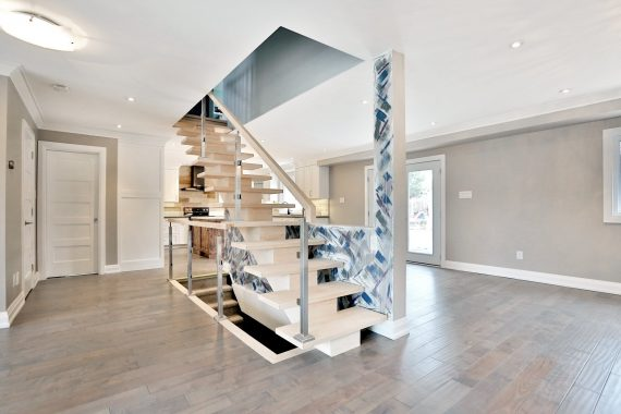 Main Floor Home Renovation - Staircase