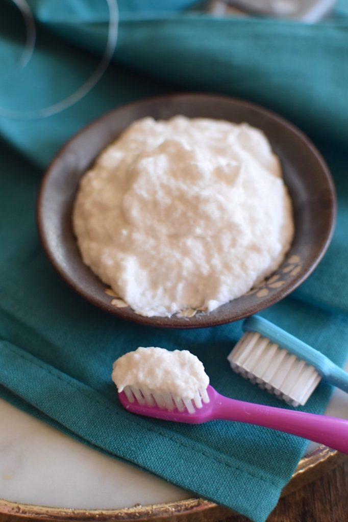 Fluoride Free Homemade Remineralizing Toothpaste