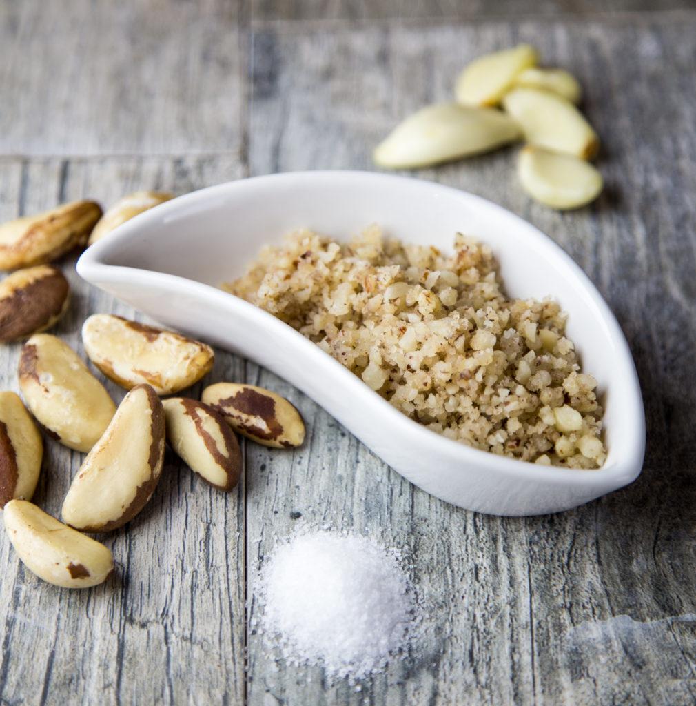 3 ingredient vegan Brazil Nut Cheese