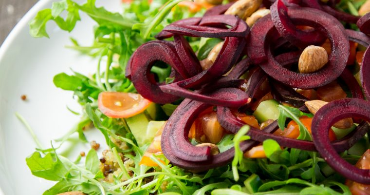 Anti-Candida Mountain High Salad Recipe