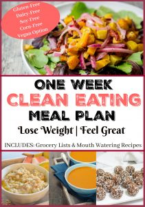 One Week Clean Eating Meal Plan
