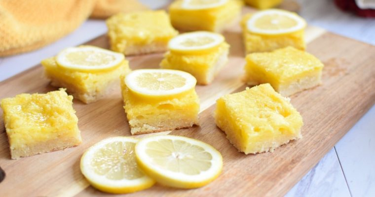 Candida Diet  Lemon Bar Recipe