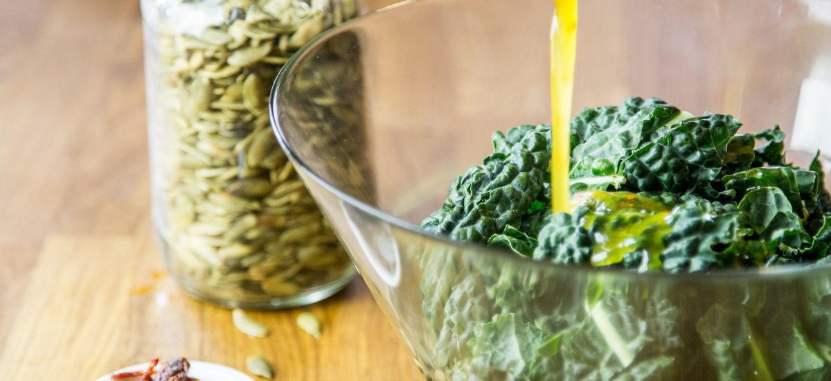 Marinated Kale Salad Recipe | Anti Candida