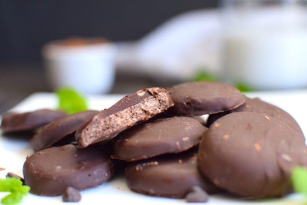 vegan and gluten free thin mints