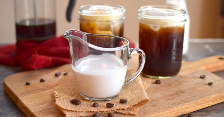 Easy Vegan and Sugar Free Creamer