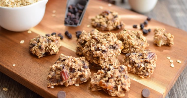Easy Banana Oat Cookies
