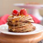5 Ingredient, Paleo Blender Pancakes