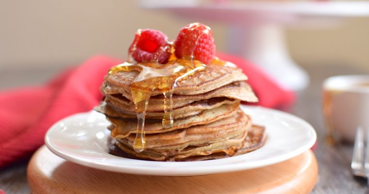 5 Ingredient Paleo Blender Pancakes