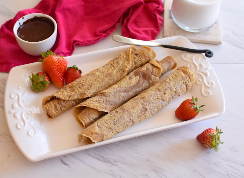 Easy and Healthy Paleo Crepes