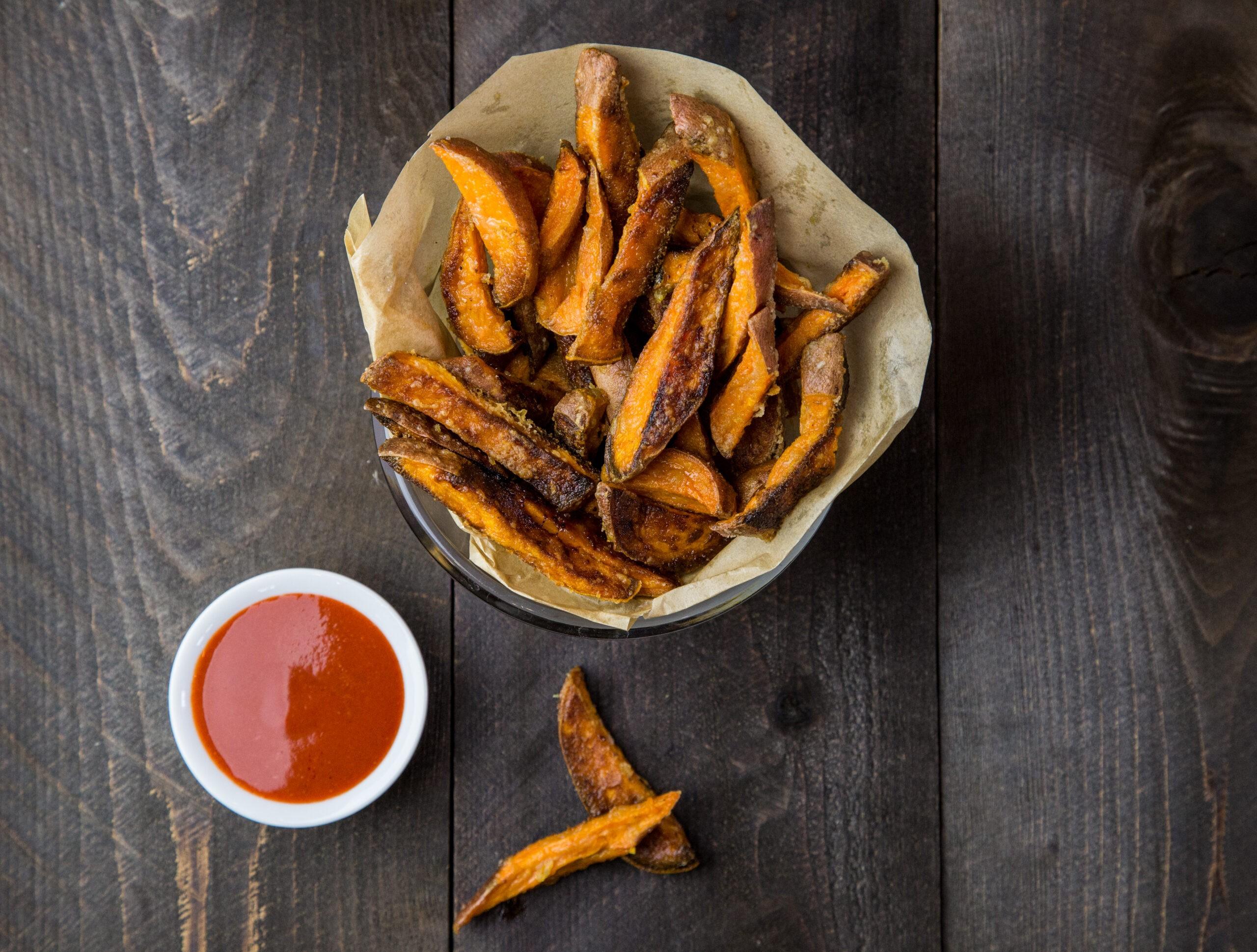 Healthy Baked Sweet Potato Fries