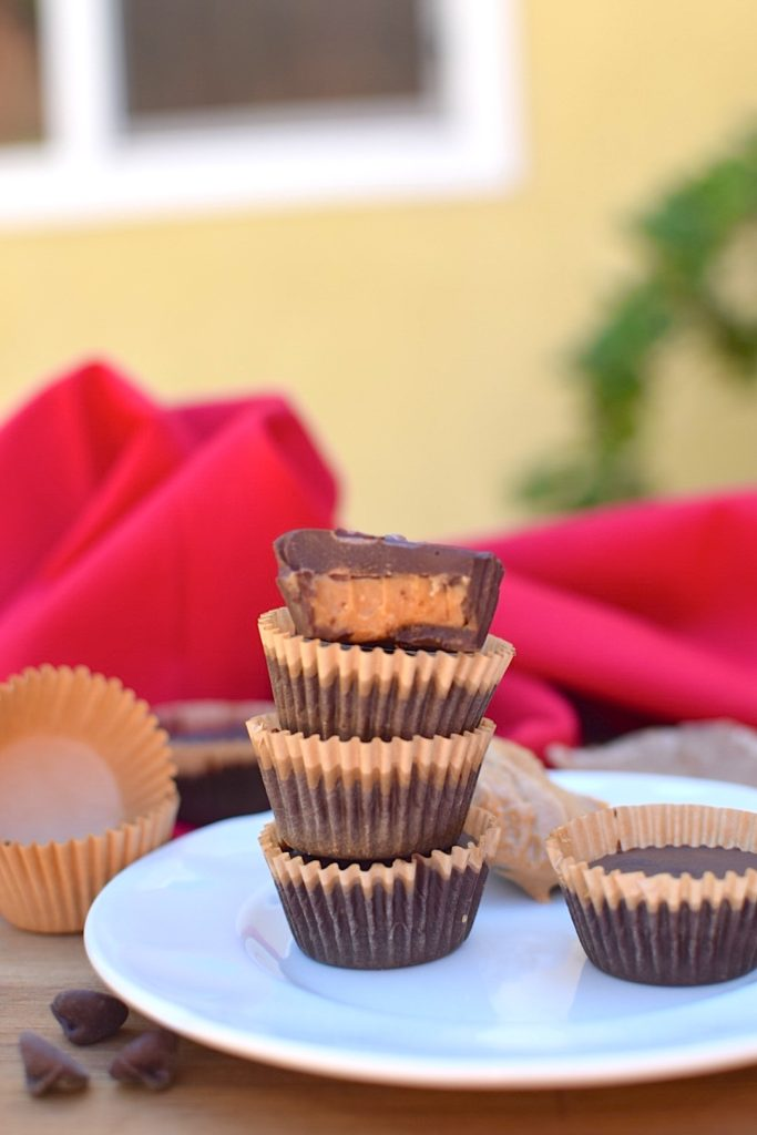 Healthy Homemade Cashew Butter Cups