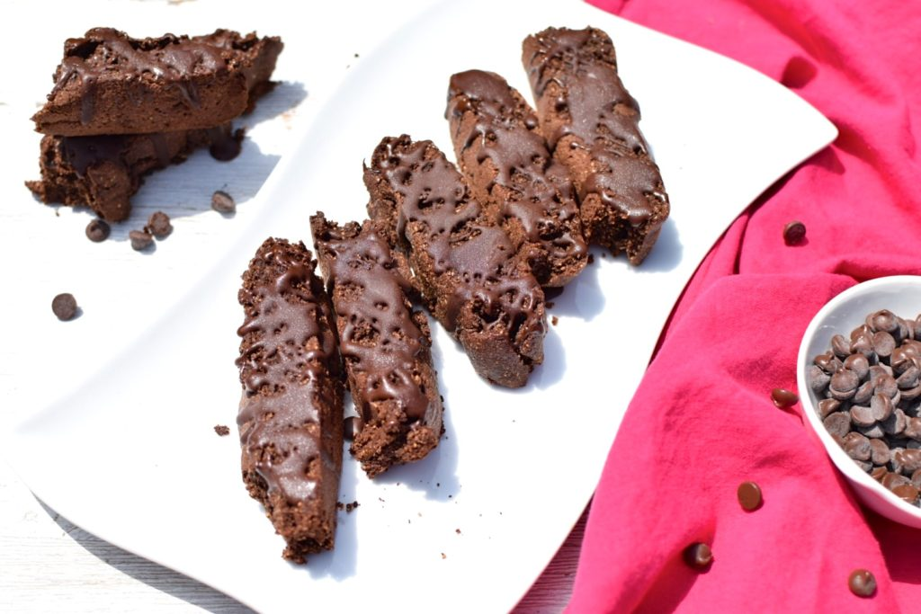 Nut-Free, Paleo Chocolate Chip Biscotti