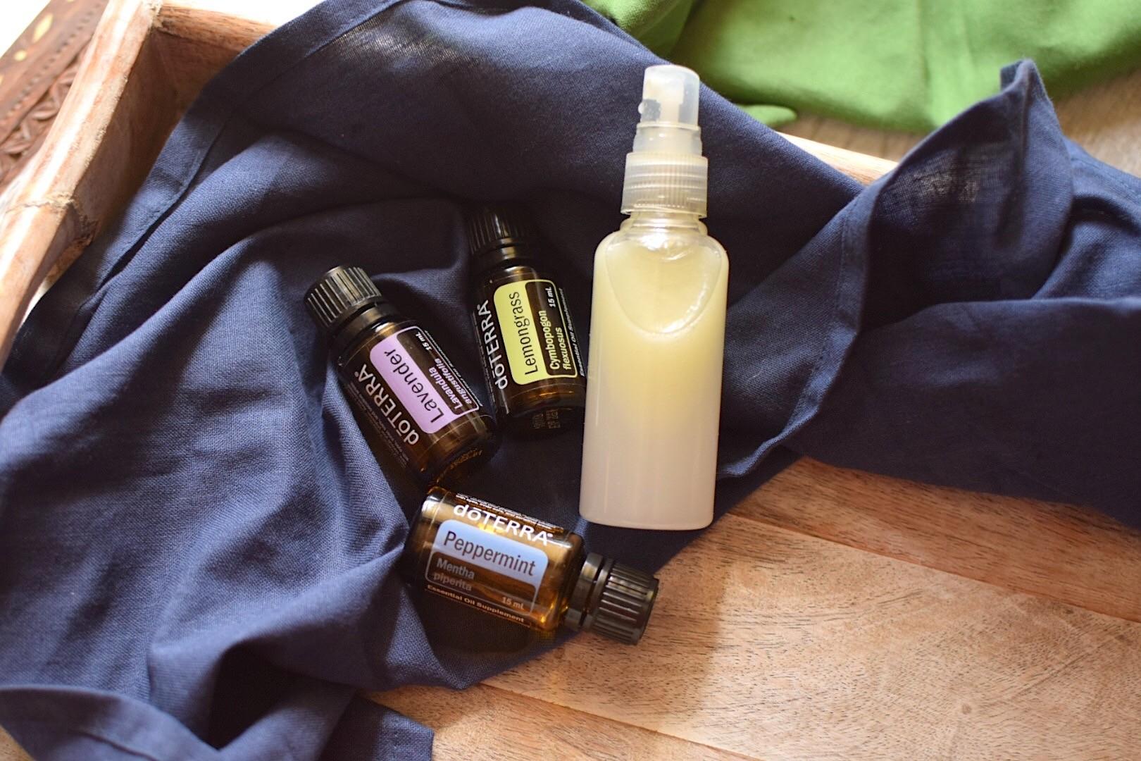 DIY Non-Toxic Bug Spray