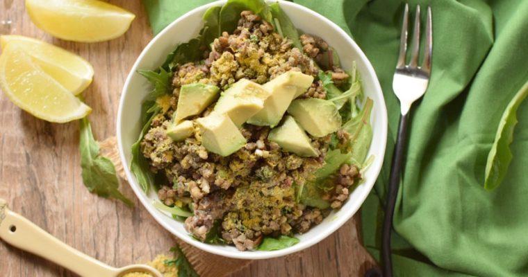 Healthy, Vegan Lentil Salad