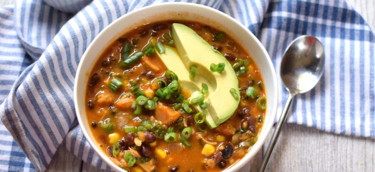 Healthy Vegan Tortilla Soup Recipe
