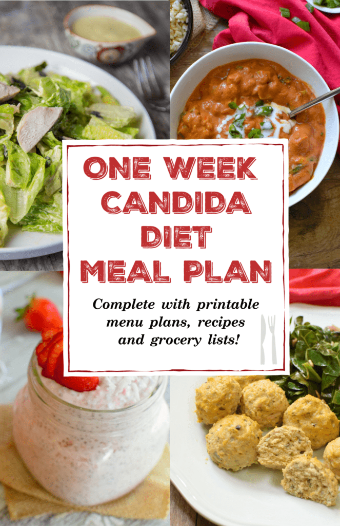 Candida diet meal plan
