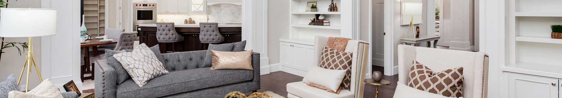 Home interior header