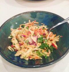 Thai Peanut Sauce Superfood Slaw Salad