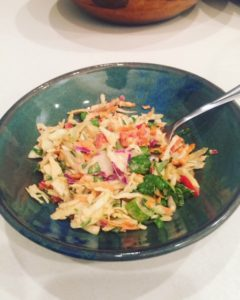 Thai Peanut Sauce Superfood Slaw Salad