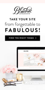 Bluchic feminine WordPress themes.