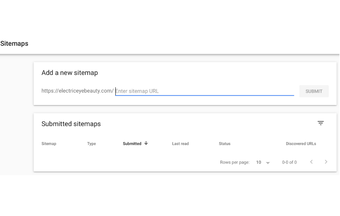 Add your sitemap url to Google Search Console.