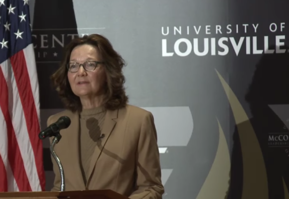 Gina Haspel's First Speech as CIA Director