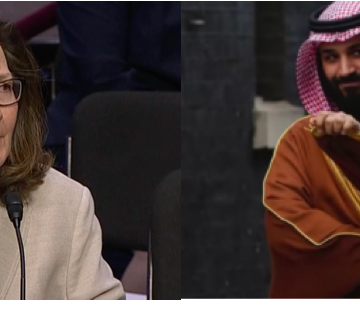 Haspel Out of Step With Trump's Embrace of the Notorious MBS