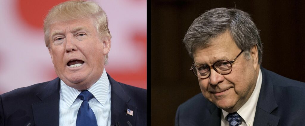 President Trump and AG Bill Barr