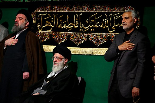 Khameini and Soleimani