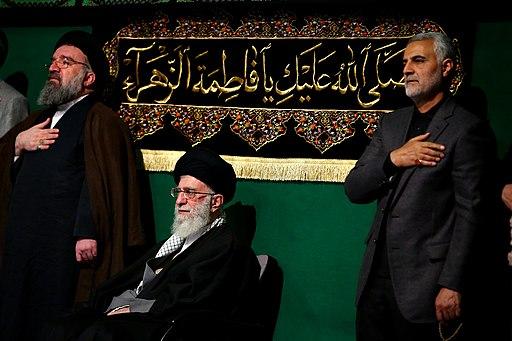 Khameini and Soleimani