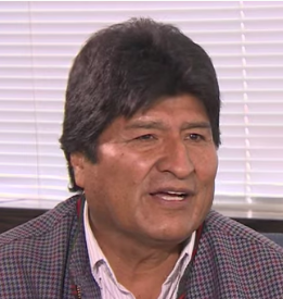 Evo Morales on Why the U.S. Wanted Him Gone