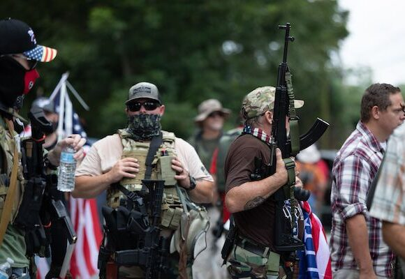 Let's Rumble, Pro-Trump Extremists Say