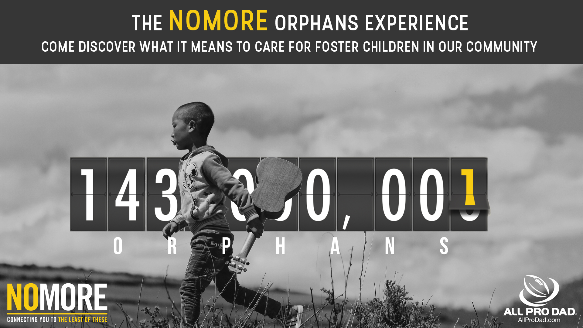 NOMORE Orphans Experience