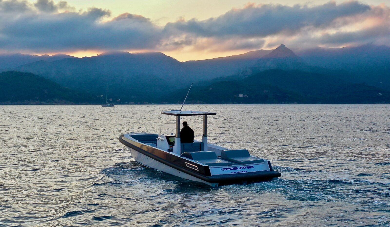 10m custom yacht tender midsummer 2