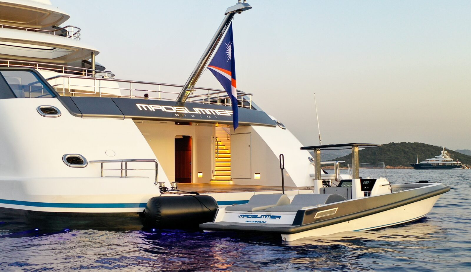 Ocean 1 Yachts Rogue 330 yacht tender Madsummer
