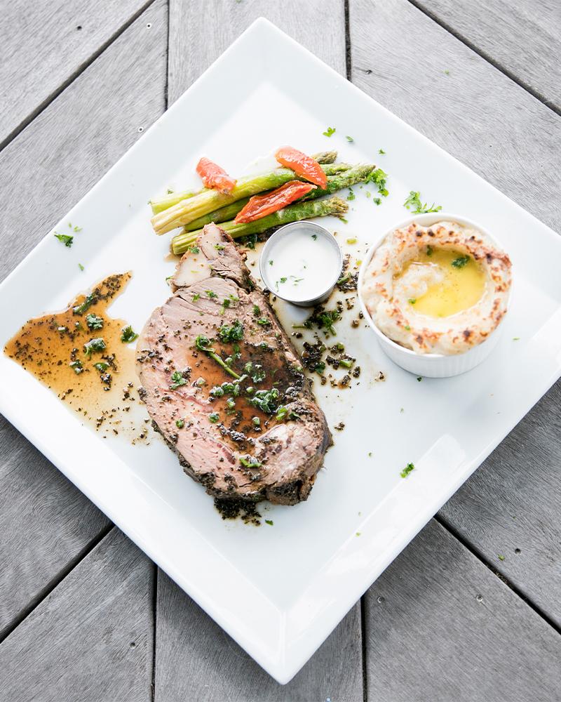 classic prime rib dinner in edenton nc