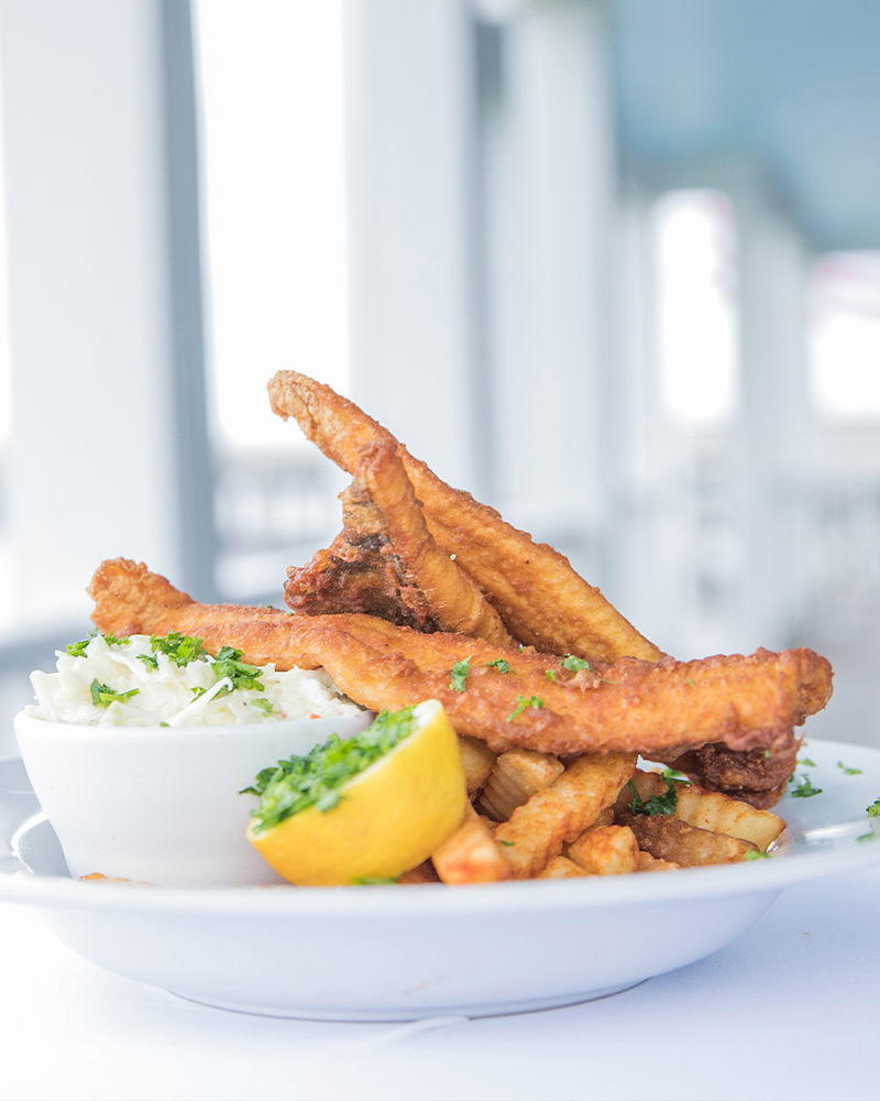 fish and chips meal fresh seafood restaurant edenton nc