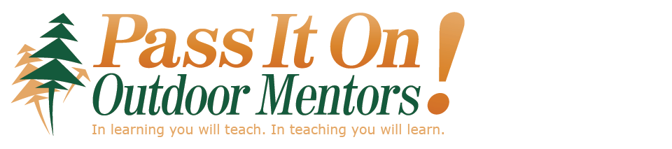 Logo of Pass It On! Outdoor Mentors